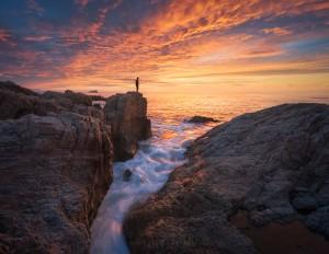 Big Sur Sunset Ocean