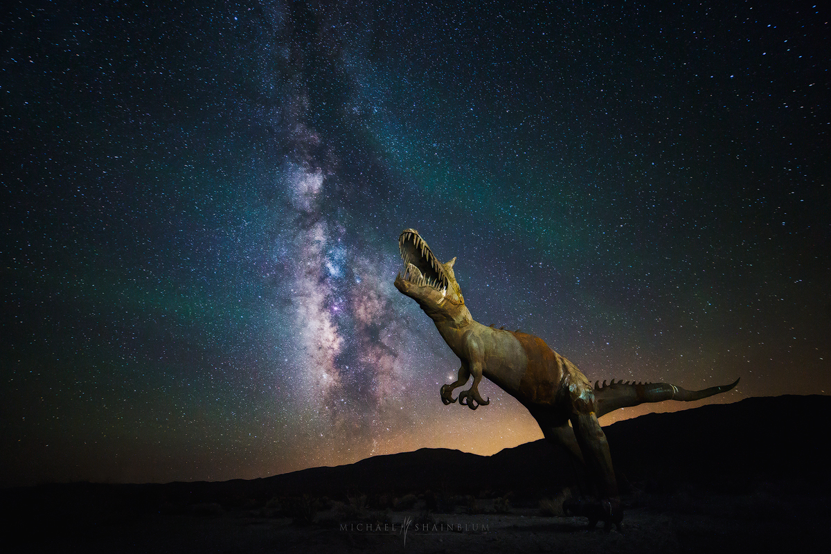 Dinosaur Milky Way
