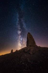 Trona Pinnacles California Milky Way Night Sky