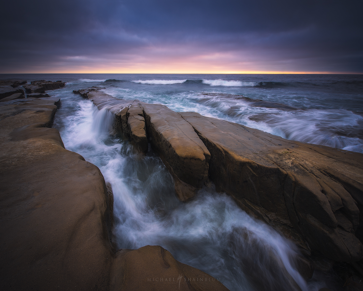La Jolla Coves Sunset.