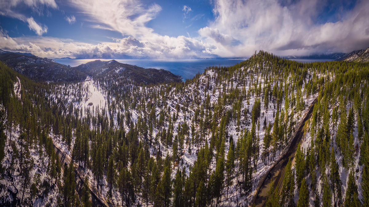 Lake Tahoe Aerial Photo