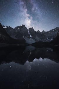 Moraine Lake Milky Way