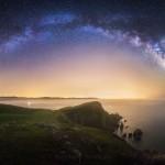 California Milky Way Point Reyes