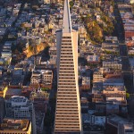 Transamerica San Francisco Aerial City Coit Tower