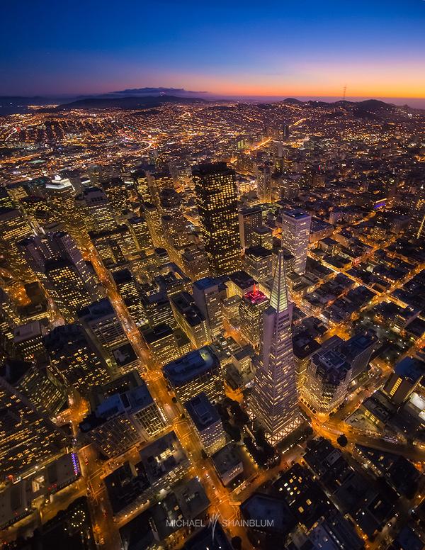 Transamerica Aerial San Francisco
