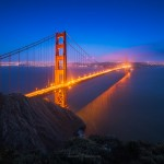 Golden Gate Bridge Night San Francisco