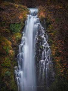Forest and Waterfall Photography by Michael Shainblum