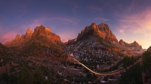 Zion National Park Sunset