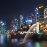 Singapore City Night