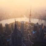 Shanghai Sunset City The Bund