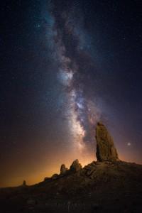 Trona Pinnacles Milky Way Photography