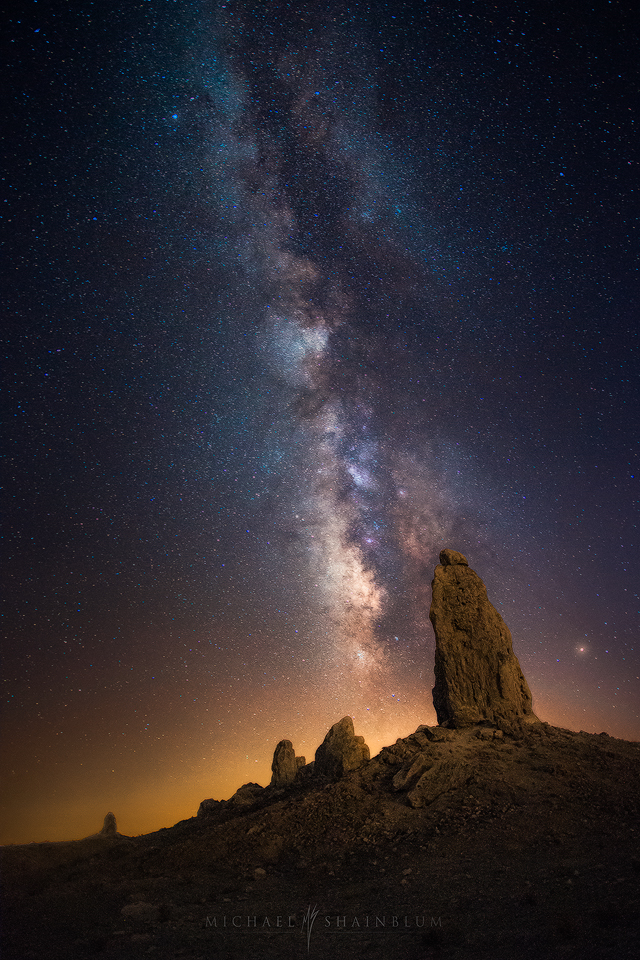 Trona Pinnacles Milky Way Photography