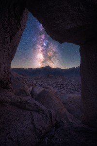 Milky Way Cave Mountains