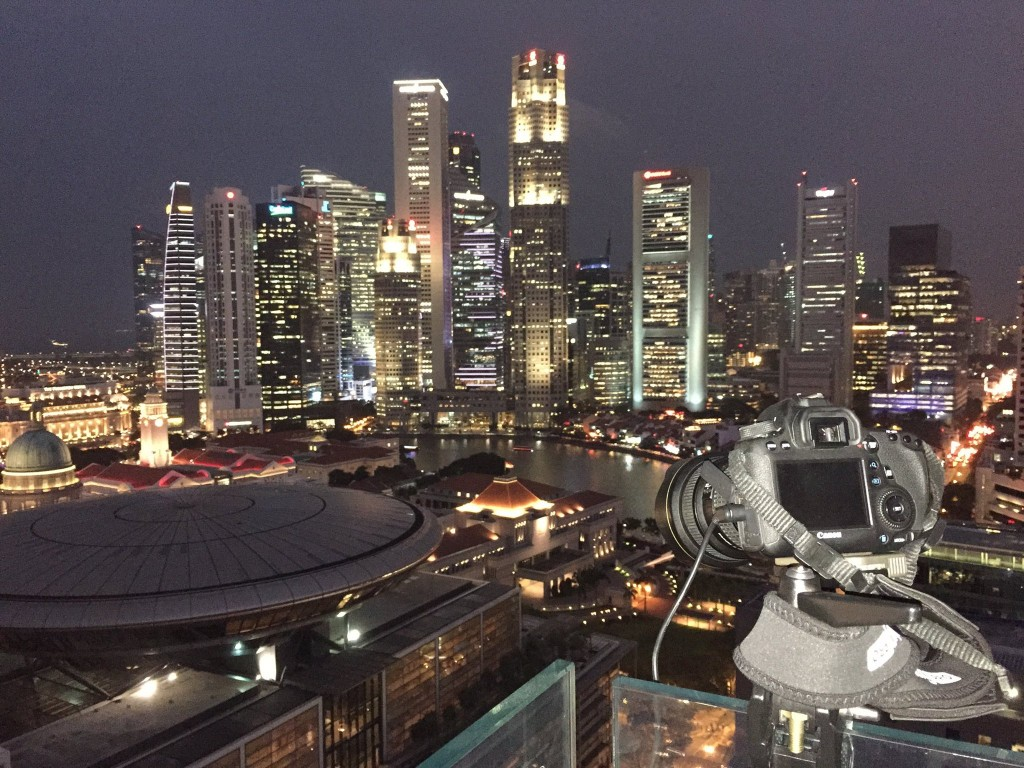 Singapore Timelapse Behind The Scenes Camera