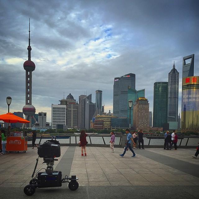 Shanghai Timelapse Camera Cart