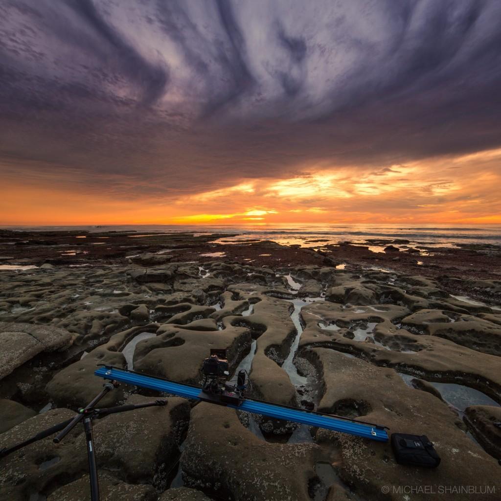 California Timelapse Beach Sunset