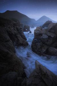 Big Sur Twilight ocean