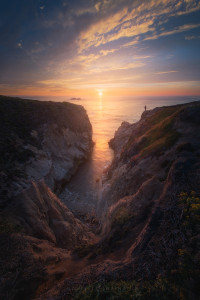Big Sur, Sunset, Ocean