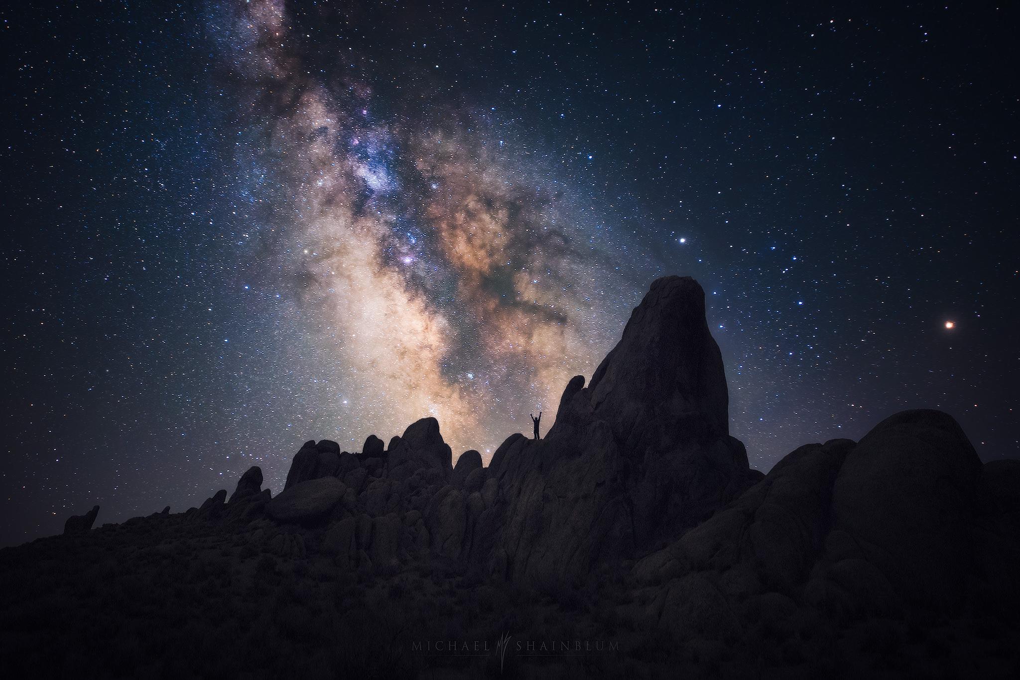 California Milky Way Photography