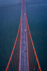 Golden Gate Bridge Aerial, San Francisco