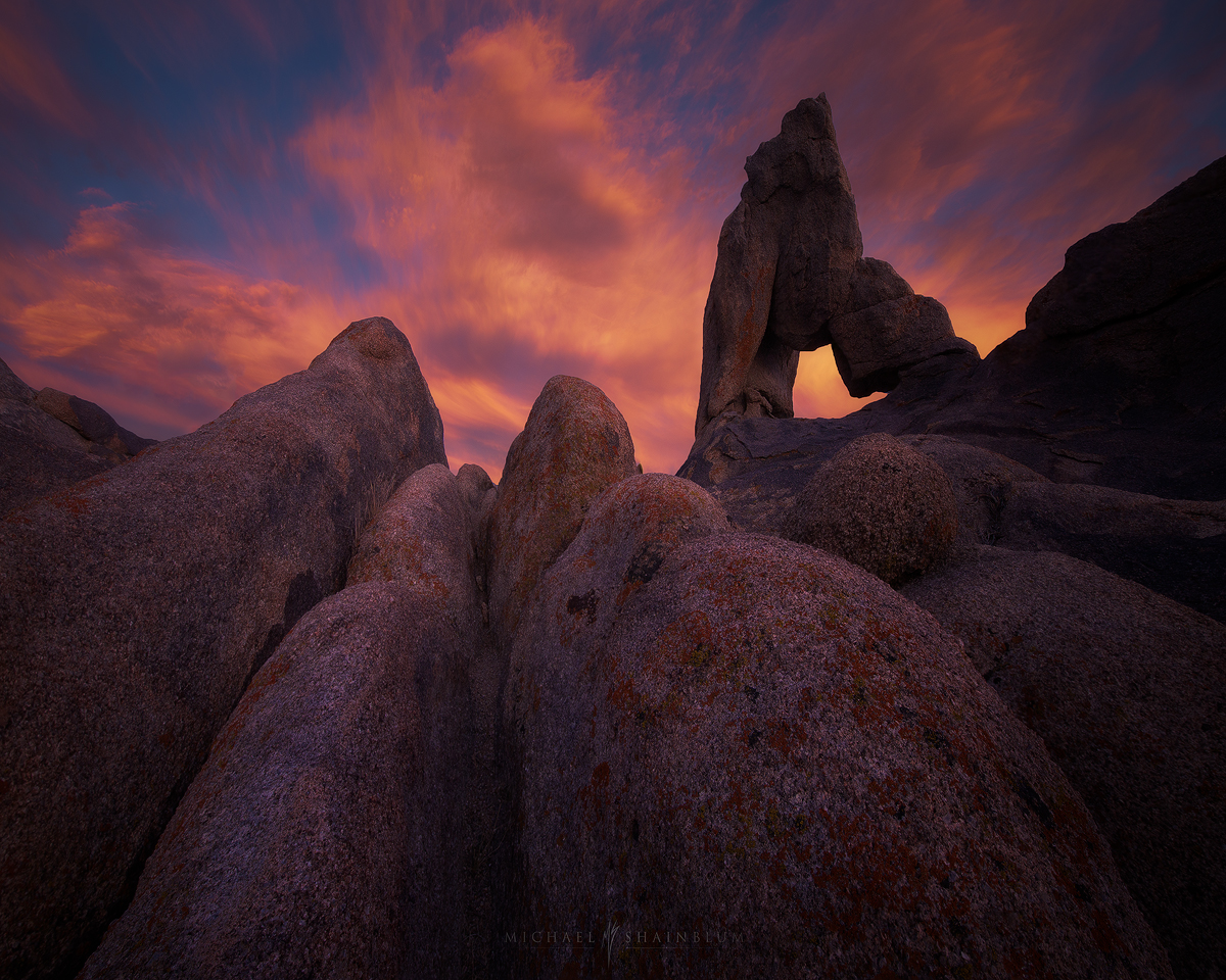 Alabama Hills Sunset