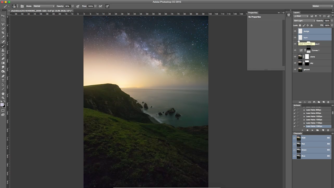 Star Photography, Milky Way Photography, Astrophotography processing tutorial.