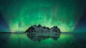 Aurora Iceland Landscape Photography