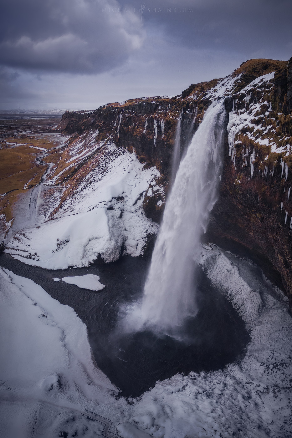 Iceland Waterfall Landscape Photography