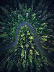 aerial photography, oregon