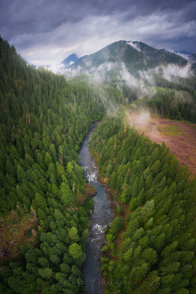 oregon aerial video