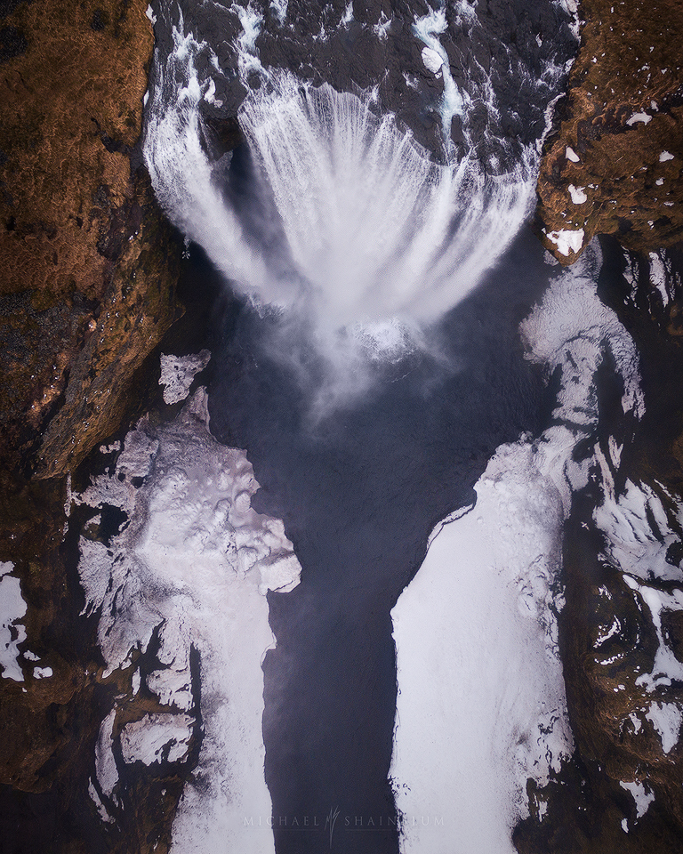 iceland aerial photography