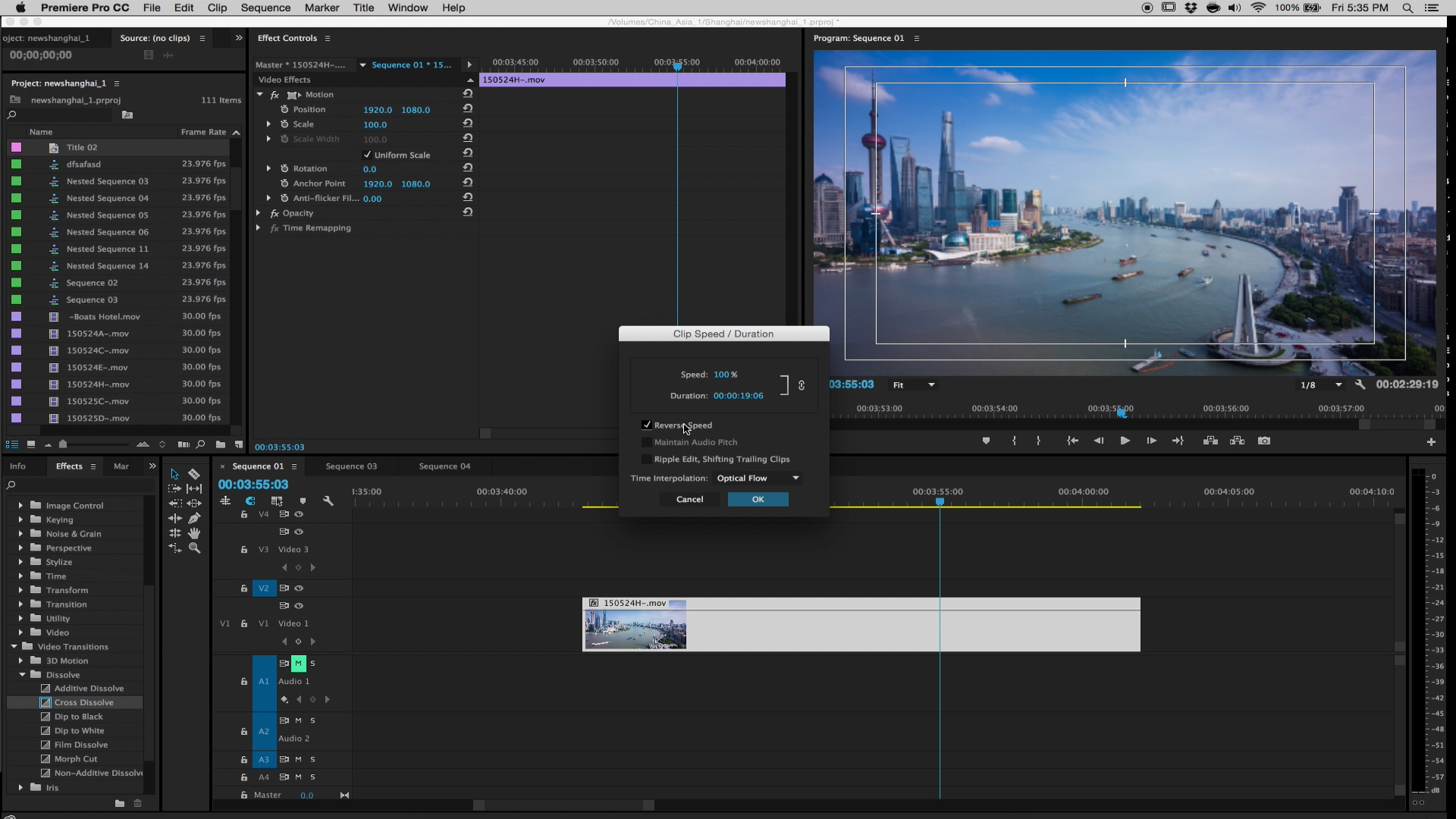 Speed Changes Adobe Premiere Tutorial