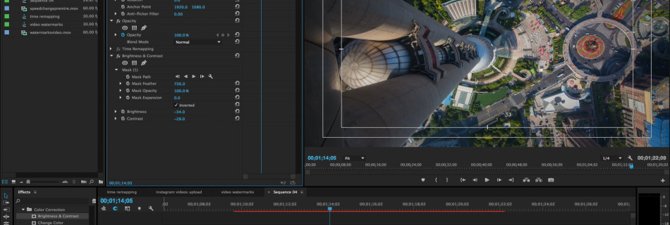 How to vignette footage in adobe premiere