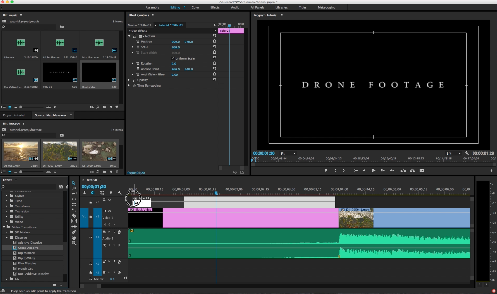 adobe premiere video editing tutorial basics