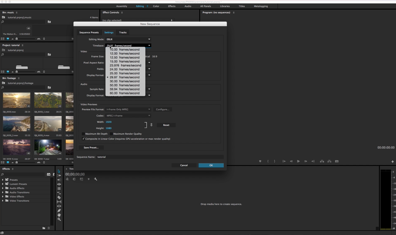 Adobe premiere video editing tutorial basics michael shainblum adobe premiere video editing tutorial basics baditri Choice Image