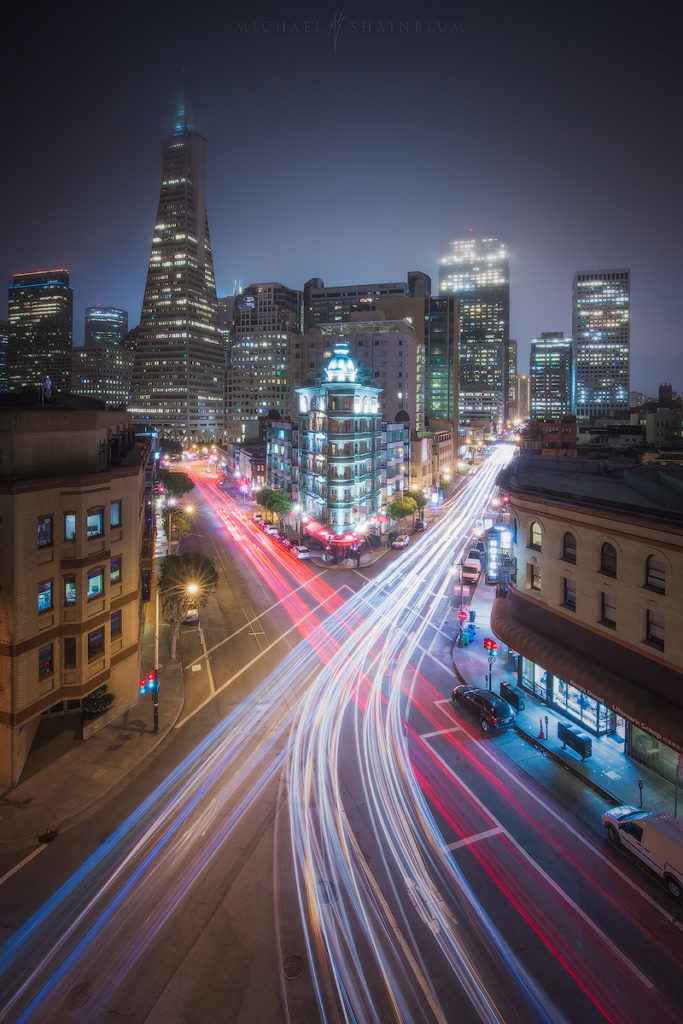 san francisco long exposure night photography