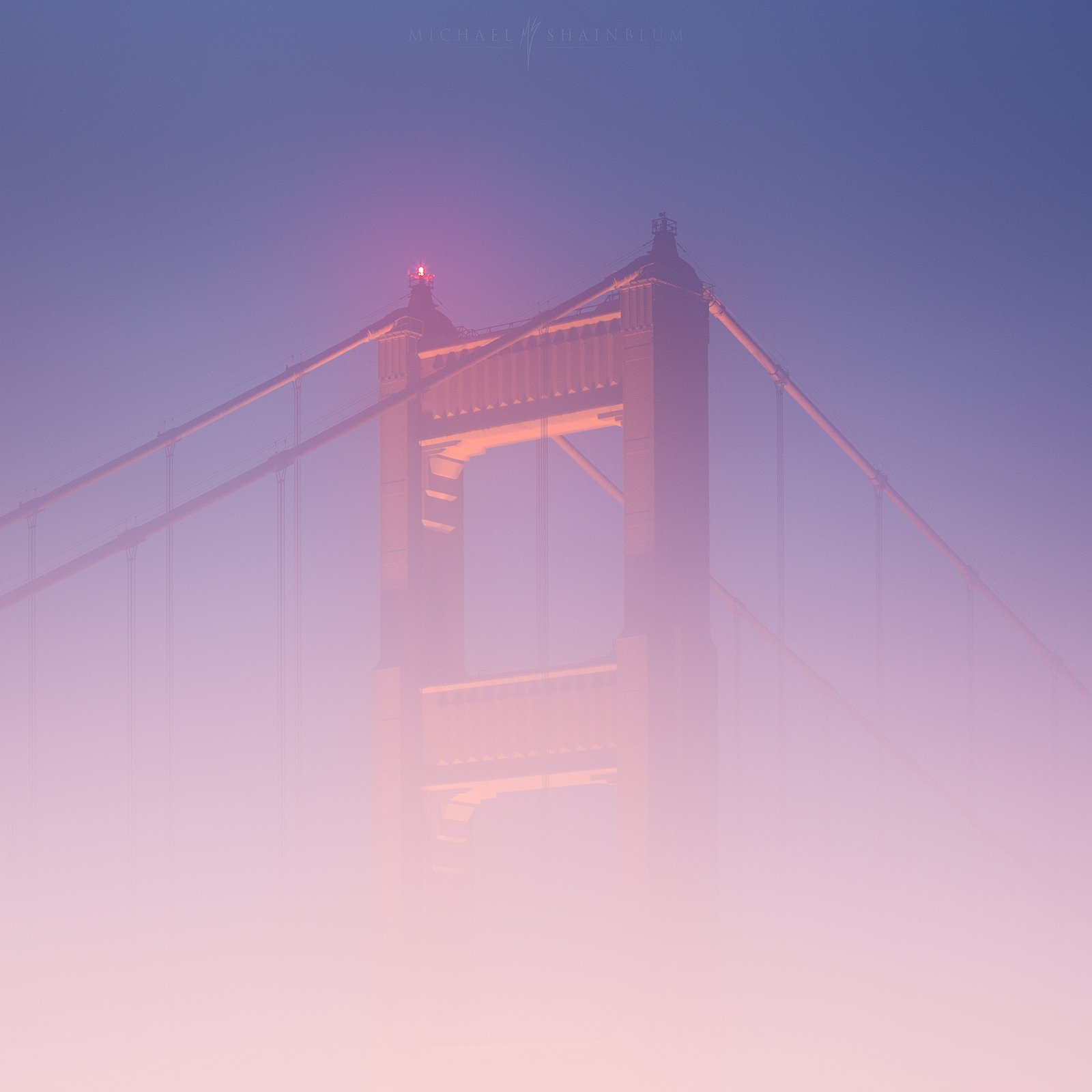 golden gate bridge fog, san francisco photography