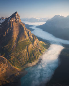 canada aerial photography and landscape photography