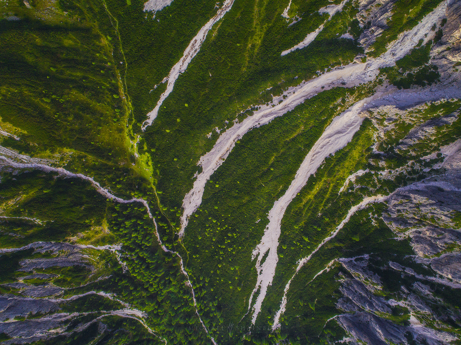 Dolomites Aerial Photography.