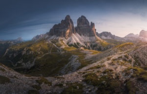 Dolomites Sunrise Landscape Photography
