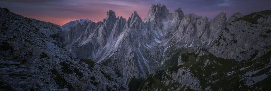 Dolomites Mountain Sunrise Landscape Photography