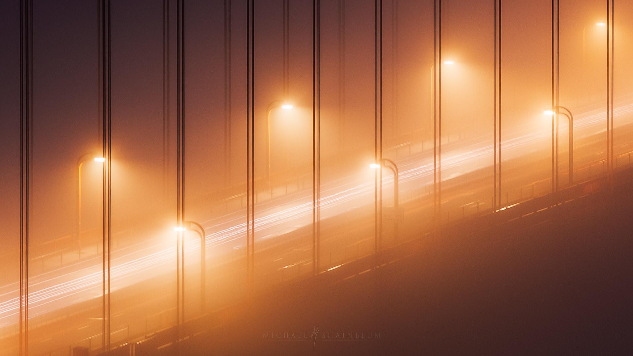 San Francisco Photography, Golden Gate Bridge Fog
