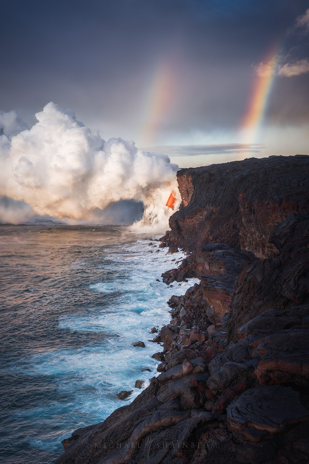 Hawaii Lava Volcano Photography