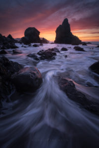San Francisco Seascape, Coastal Landscape Photography.