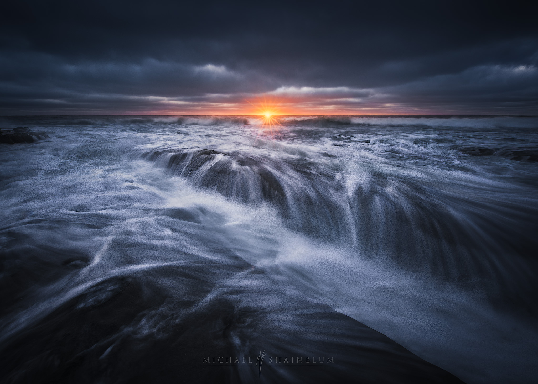 San Diego Seascape, Coastal Landscape Photography.