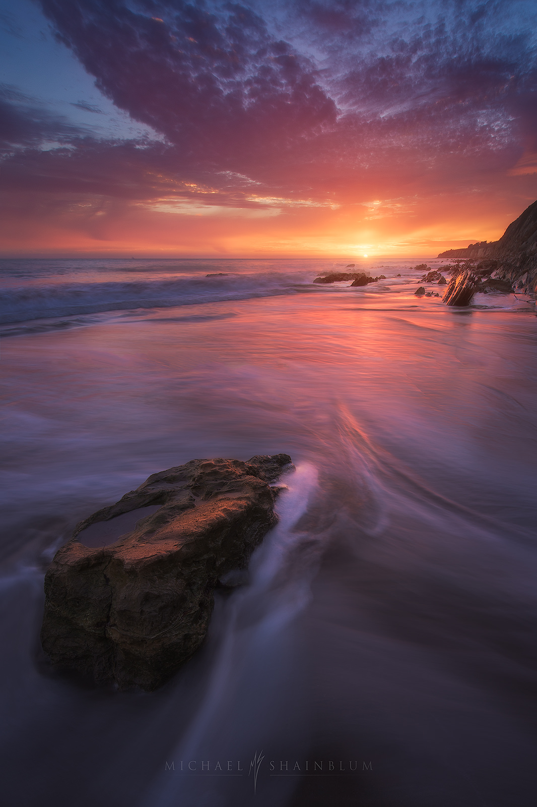 Santa Barbara Seascape, Coastal Landscape Photography.