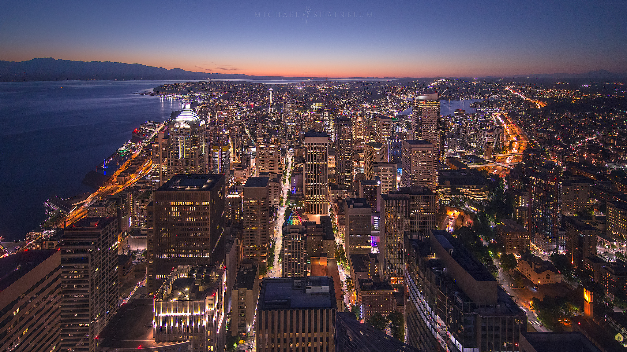 Seattle Cityscape Photography