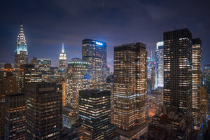 New York City, Night Cityscape Photography