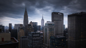 New York City, Storm Cityscape Photography