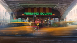 New York City, Cityscape Pershing Square Taxi Photography